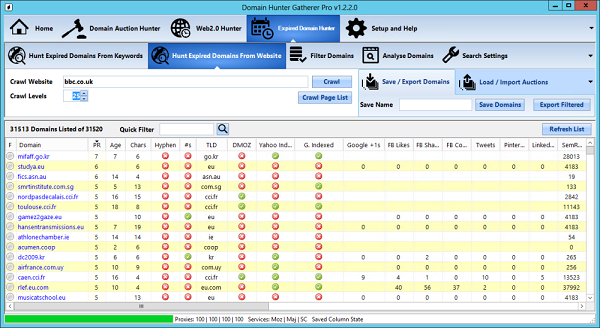 DHG-screenshot